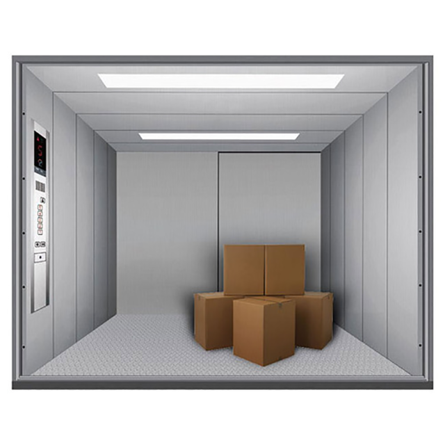 Elevator for loading goods – Door Floor